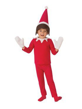 Boys Sitting Elf Costume