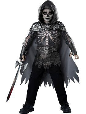 Boys Skull Knight Costume