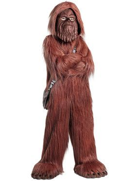 Boys Star Wars Chewbacca Deluxe Costume
