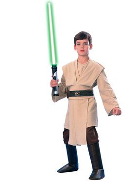 Star Wars Deluxe Jedi Boys Costume