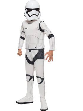 Kid's Star Wars Episode VII Stormtrooper Costume