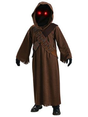 Jawa (Star Wars) Kids Costume with Light-up Eyes