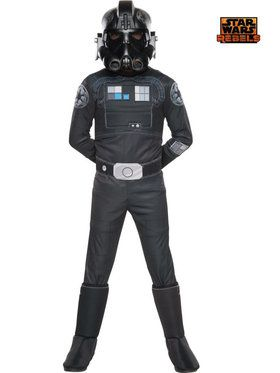 Star Wars Rebels Kid's Deluxe Tie Fighter Costume