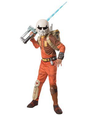 Ezra Boys (Star Wars Rebels) Kids Costume Deluxe