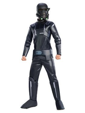 Boys Rogue One Death Trooper Deluxe Costume