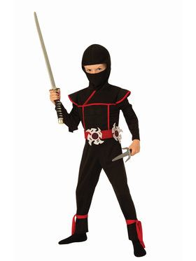 Stealth Ninja Kid's Costume