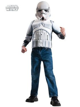 Boys Storm Trooper Muscle Chest Shirt Se