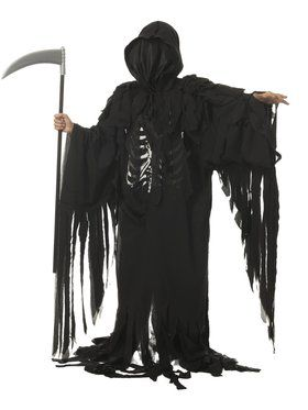 Boys Tattered Reaper Costume
