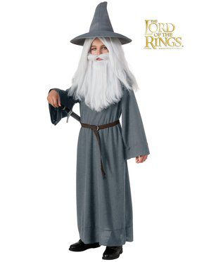 Boys The Hobbit Gandalf Costume