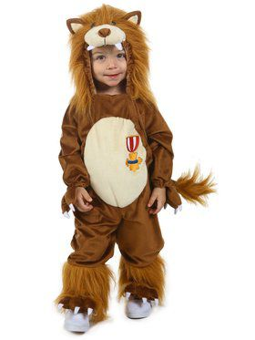 Boys The Wizard of Oz Cowardly Lion Child Costume