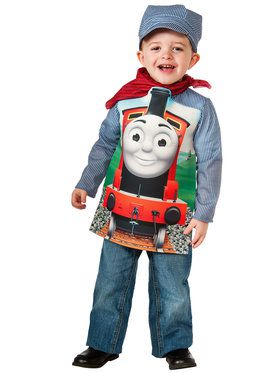 Thomas The Tank James DeluxeToddler/Child Costume