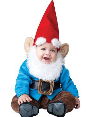 Boys Toddler Garden Gnome Costume