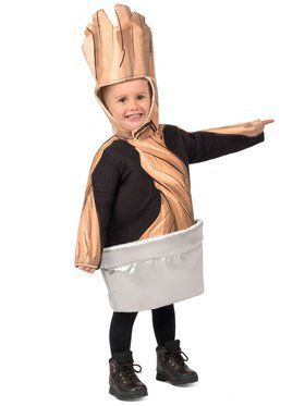 Boys Toddler Potted Groot Child Costume