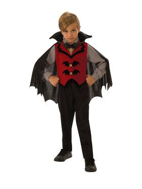 Kids Vampire Boy Costume