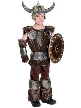Boys Viking Set Child Costume