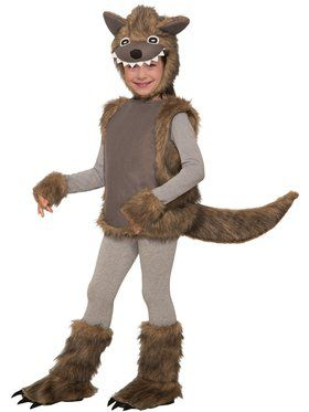 Wee Wolf Costume for Kids