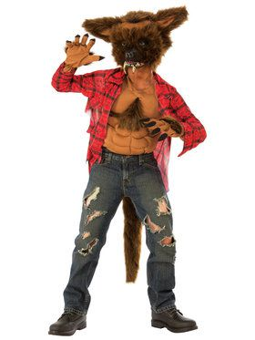 Kid's Scary Werewolf Costume