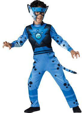 Wild Kratts Cheetah Quality Boy Costume
