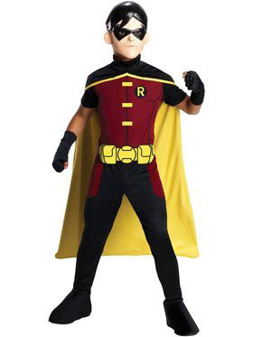 Boy's Young Justice Robin Costume
