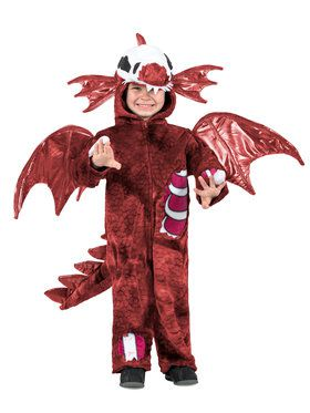 Boys Zombie Dragon Costume