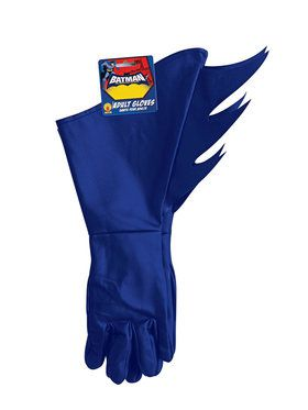 Batman the Brave and Bold Gloves for Adults