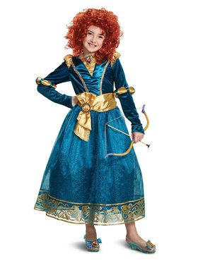 Brave Merida Deluxe Toddler Costume