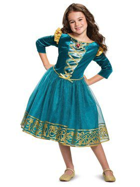 Brave Princess Merida Classic Child Costume