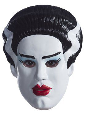 Vacuform Adult Bride Of Frankenstein 2018 Halloween Masks