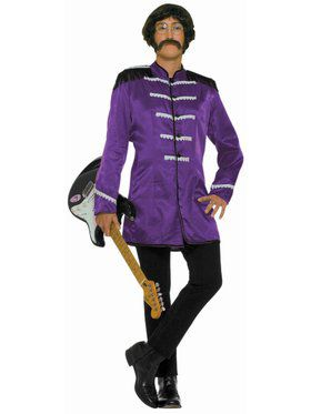 British Explosion - Purple Adult Costume
