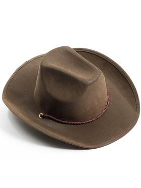 Brown Adult Cowboy Hat