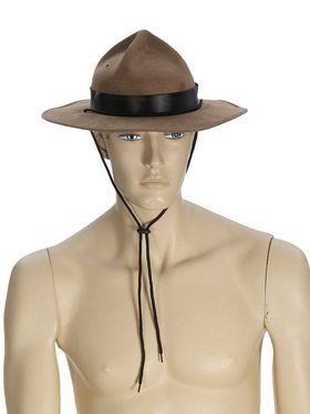 Brown Mountie Hat