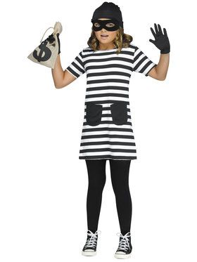 Burglar Child Costume XL