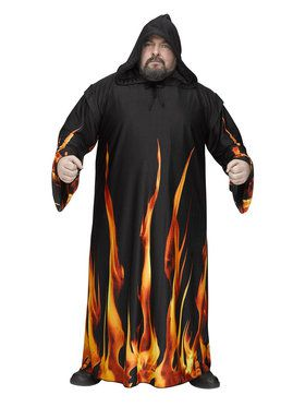 Burning Cloak for Adult Plus