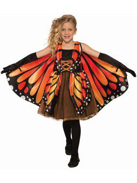 Butterfly Girl Child Costume