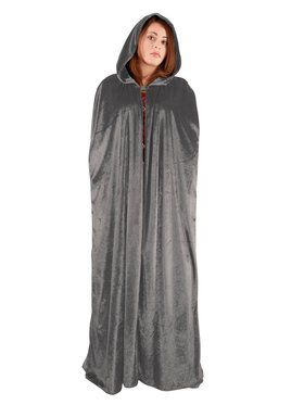 Full-Length Cape with Hood for Adults