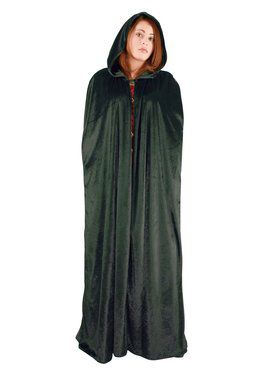Full Length Cape for Adults - Emerald Green