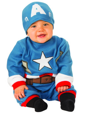 Captain America Infant Costume Ideas