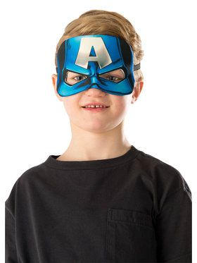 Plush Captain America Eye 2018 Halloween Masks for Children