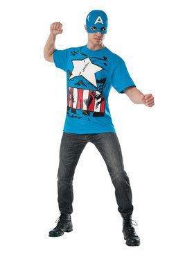 Marvel - Classic Captain America Costume Kit