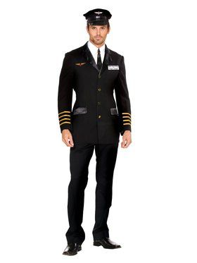 Captain Hugh Jorgan Adult Costume