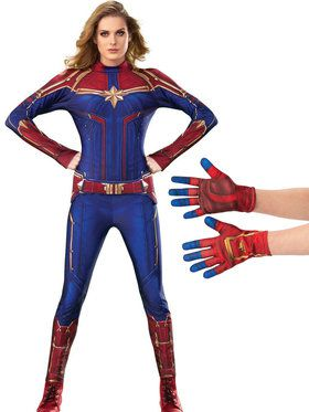 Captain Marvel Adult Costume Kit