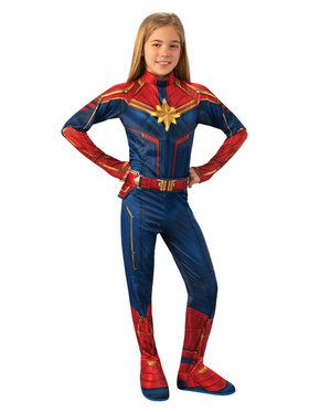 Captain Marvel Deluxe Light-Up Costume