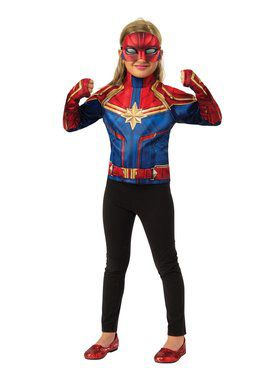 Captain Marvel Dress Up Set