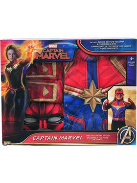 Captain Marvel Dress Up W