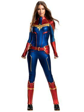 Captain Marvel Grand Heritage Adult Costume