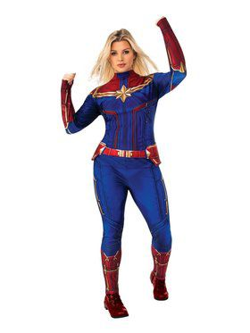 Captain Marvel Plus Size Adult Costume