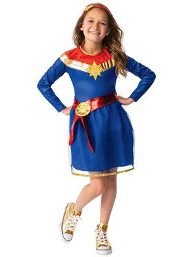 Captain Marvel Tutu Dress Costume