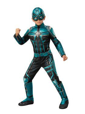 Captain Marvel Yon Rogg Deluxe Child Costume