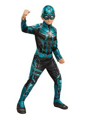 Captain Marvel Yon Rogg Kids Child Costume