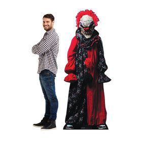Carnival Creepy Clown Cardboard Standup (Each)